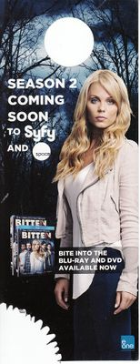 Bitten Laura Vandervoort 2015 Comic-Con promo double sided door hanger