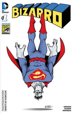 Bizarro 2015 San Diego Comic-Con exclusive variant #1 DC comic book