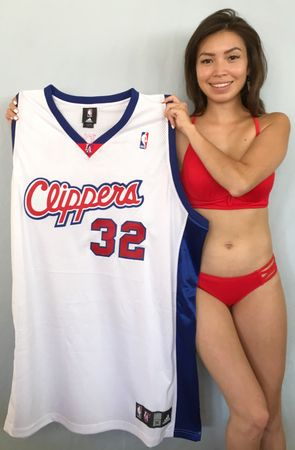 Blake Griffin Los Angeles Clippers authentic Adidas rookie season game model jersey