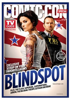 Blindspot 2016 Comic-Con TV Guide magazine