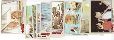 Bo Derek 1981 Fleer Here's Bo lot of 9 different trading cards