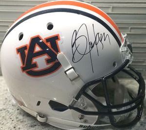 Bo Jackson autographed Auburn Tigers Schutt full size replica helmet (Beckett Authenticated)