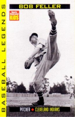 Bob Feller 1998 Sports Illustrated for Kids card