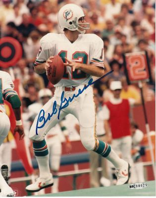 Bob Griese autographed Miami Dolphins 8x10 photo (UDA)