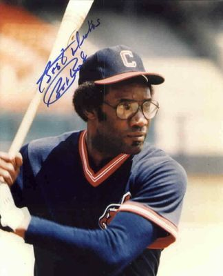Bobby Bonds autographed Cleveland Indians 8x10 photo