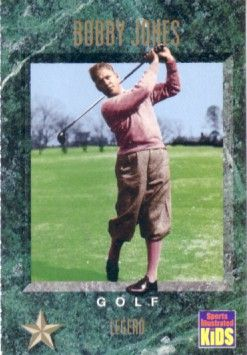 Bobby Jones 1994 Sports Illustrated for Kids golf card