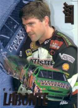 Bobby Labonte 1995 Press Pass VIP promo racing card