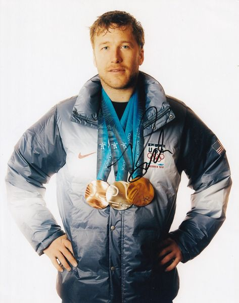 Bode Miller autographed 2010 Winter Olympics 8x10 photo
