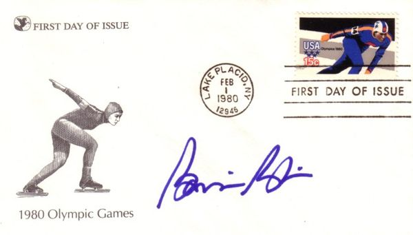 Bonnie Blair autographed 1980 Winter Olympics speed skating First Day of Issue cachet