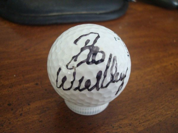 Boo Weekley autographed golf ball