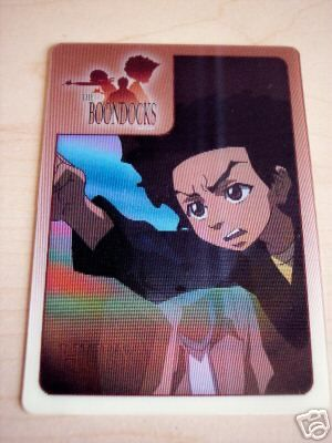 Boondocks Adult Swim 2007 promo card (Huey)