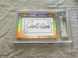 Boxing Leaf Cut Signature Cards