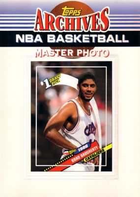 Brad Daugherty Cleveland Cavaliers 1992-93 Topps Archives 5x7 Master Photo card