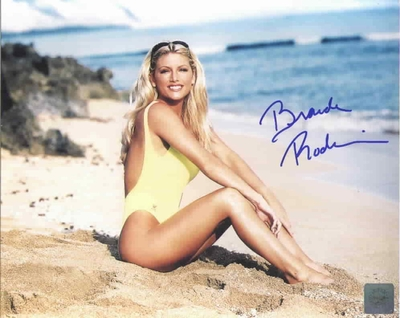 Brande Roderick autographed 8x10 Baywatch swimsuit photo (Superstar Greetings)
