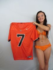 Brandin Cooks Oregon State Beavers authentic Nike orange stitched MEDIUM jersey