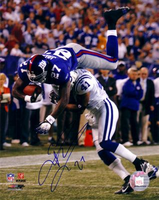 Brandon Jacobs autographed New York Giants 8x10 photo