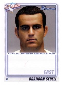 Brandon Sedell 2010 AFLAC Bowman Rookie Card