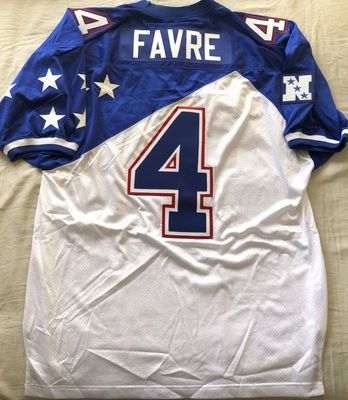 Brett Favre 1996 NFC Pro Bowl authentic Mitchell and Ness stitched jersey