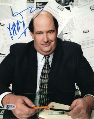 Brian Baumgartner autographed The Office 8x10 photo (Beckett Authentication)