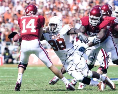 Brian Orakpo autographed Texas Longhorns 8x10 photo