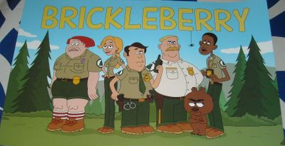 Brickleberry 2012 Comic-Con mini 11x17 Fox promo poster