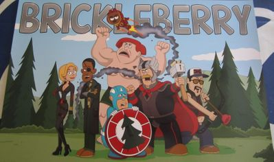 Brickleberry 2013 Comic-Con 11x17 inch mini promo poster MINT