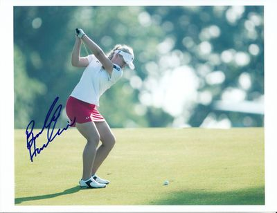 Brooke Henderson autographed 8x10 photo