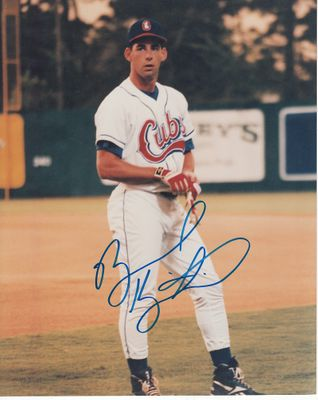 Brooks Kieschnick autographed Orlando Cubs 8x10 photo
