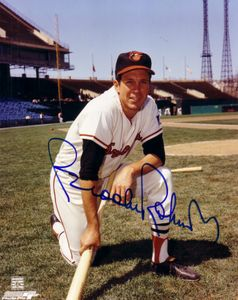Brooks Robinson autographed Baltimore Orioles 8x10 Memorial Stadium photo