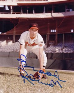 Brooks Robinson autographed Baltimore Orioles 8x10 vintage photo