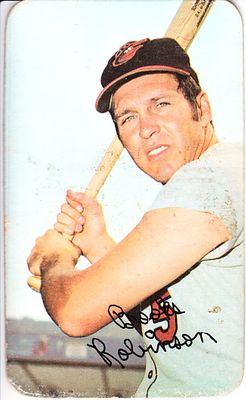 Brooks Robinson Baltimore Orioles 1971 Topps Super card #59