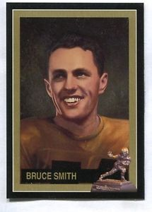 Bruce Smith Minnesota 1941 Heisman Trophy winner card