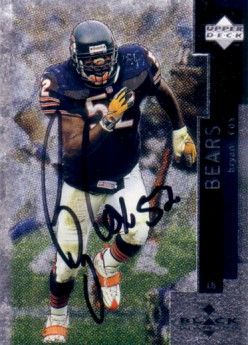 Bryan Cox autographed Chicago Bears 1998 Upper Deck card