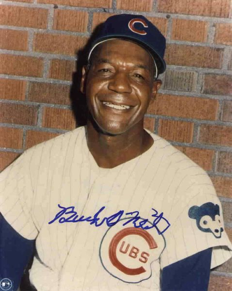 Buck O'Neil autographed Chicago Cubs 8x10 photo
