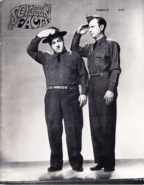 Bud Abbott and Lou Costello 1970 Screen Facts magazine issue 22
