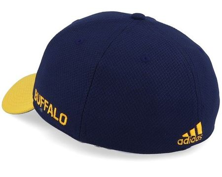 Buffalo Sabres Adidas Coach blue and yellow cap or hat NEW WITH TAGS