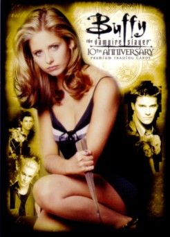 Buffy the Vampire Slayer 10th Anniversary 2007 San Diego Comic-Con promo card B10-SD2007