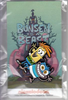 Bunsen is a Beast 2017 Comic-Con Nickelodeon promo pin