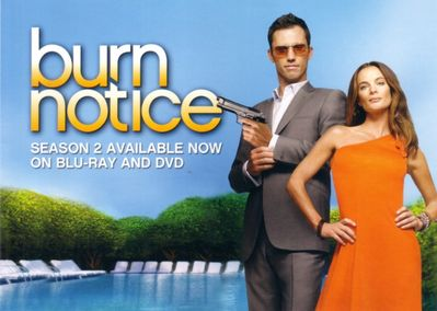 Burn Notice 2009 Comic-Con Fox 5x7 promo photo card