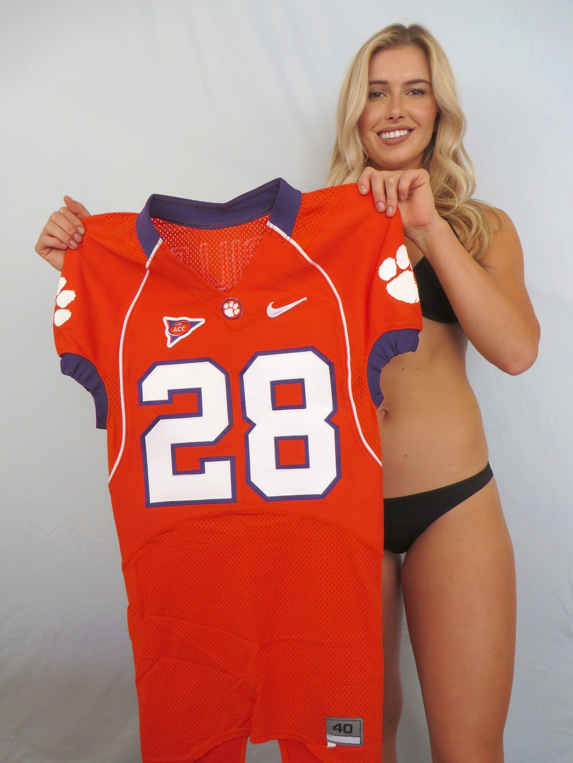 best sneakers 2f07d 587f1 C.J. Spiller Clemson Tigers authentic Nike TEAM ISSUED ...