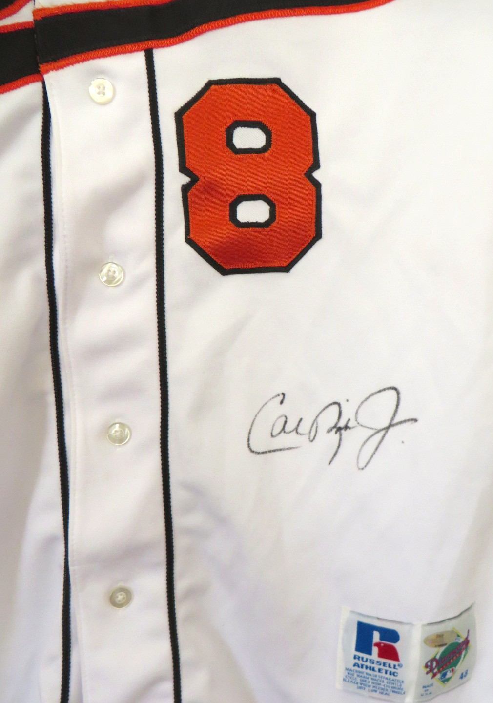 best authentic 69897 17c0e Cal Ripken autographed 1995 Baltimore Orioles authentic ...