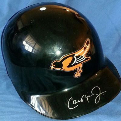 Cal Ripken autographed Baltimore Orioles full size game model ABC batting helmet (JSA)