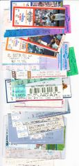 Cal Ripken Consecutive Games streak lot of 70 different 1987 to 1998 Baltimore Orioles tickets