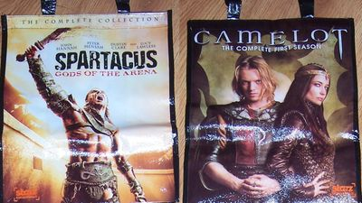 Camelot & Spartacus 2011 Comic-Con double sided promo bag