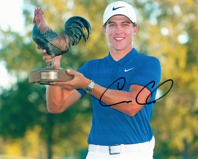 Cameron Champ autographed 8x10 golf photo