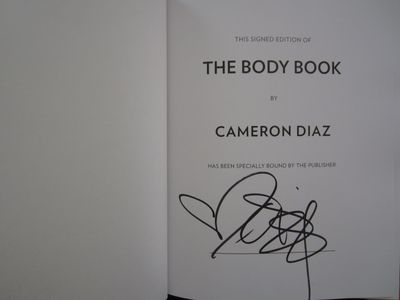 Cameron Diaz autographed The Body Book hardcover signed first edition