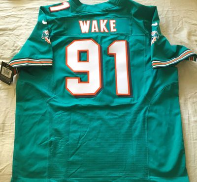 Cameron Wake Miami Dolphins 2012 authentic Nike Elite game model triple stitched jersey NEW WITH TAGS