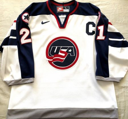 Cammi Granato 1998 U.S. Olympic Hockey Team authentic stitched white Nike jersey