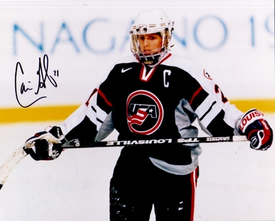 Cammi Granato autographed 1998 USA Women's Hockey Team 8x10 photo