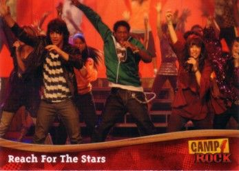 Camp Rock 2008 Topps promo card P1